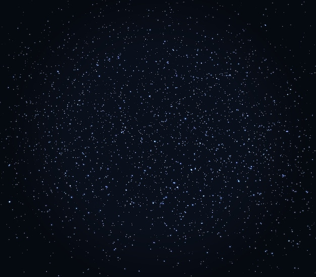 Space stars background.