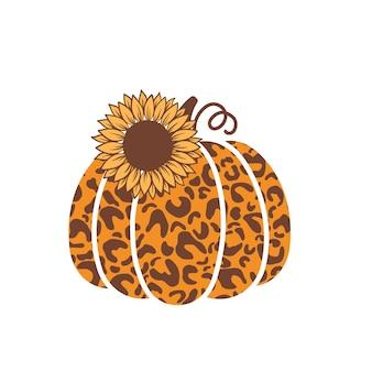 Spadek alfons clipart. jesienna dekoracja sezonu dyni