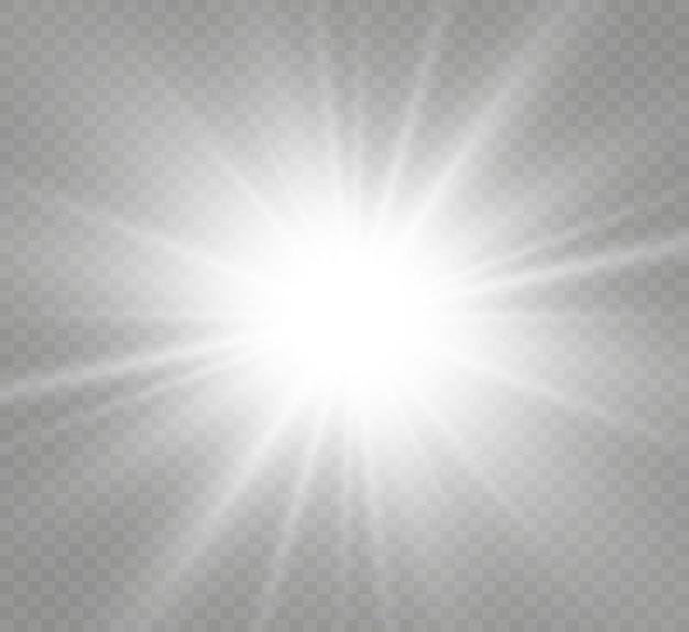 Specjalna lampa błyskowa, efekt świetlny.