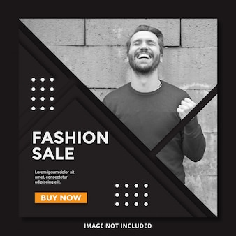 Specjalna oferta sprzedaży szablon transparent