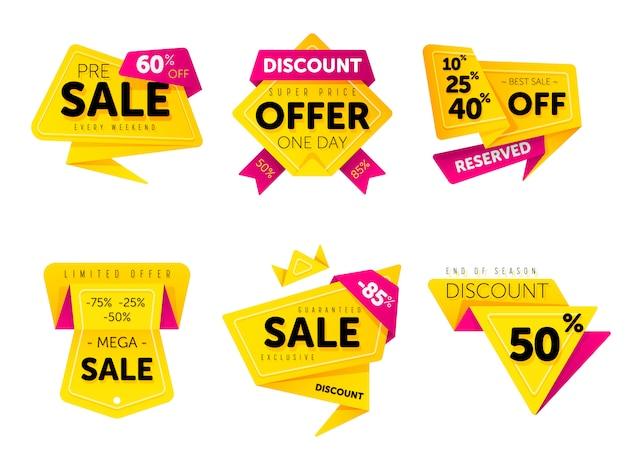 Specjalna oferta sprzedaży tag symbol zniżki