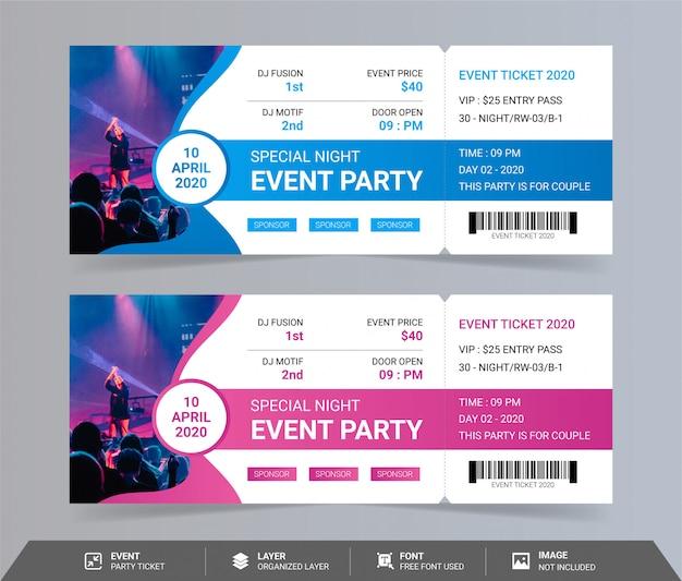 Specjalny bilet na imprezę nocną
