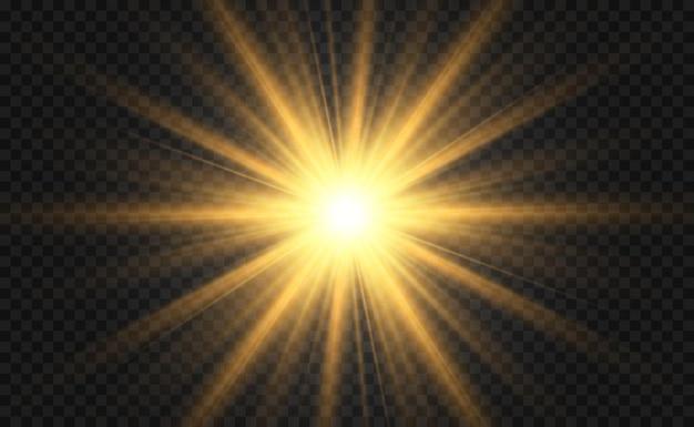 Specjalny efekt lampy błyskowej obiektywu