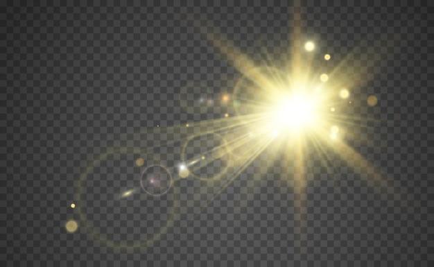 Specjalny efekt świetlny lampy błyskowej