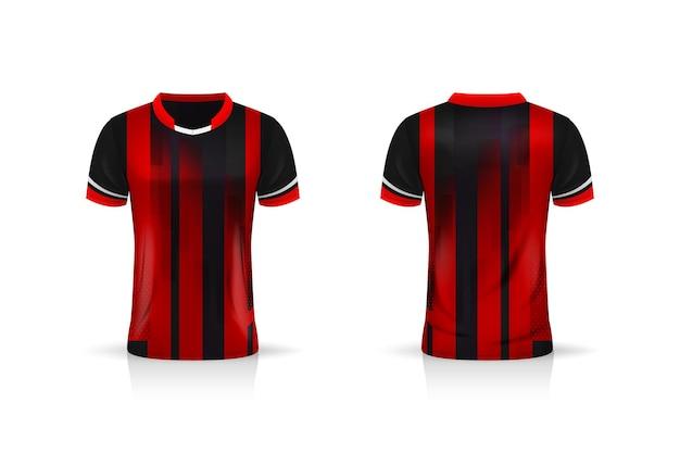 Specyfikacja soccer sport, szablon koszulki esport gaming t shirt.