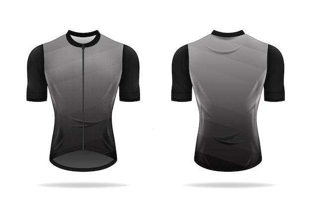 Specyfikacja wzoru koszulki rowerowej.