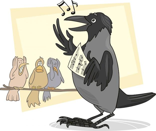 Śpiewająca wrona