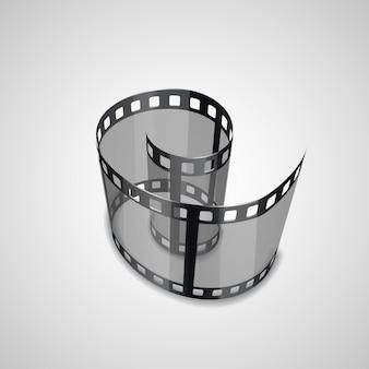 Spirala taśmy filmowej