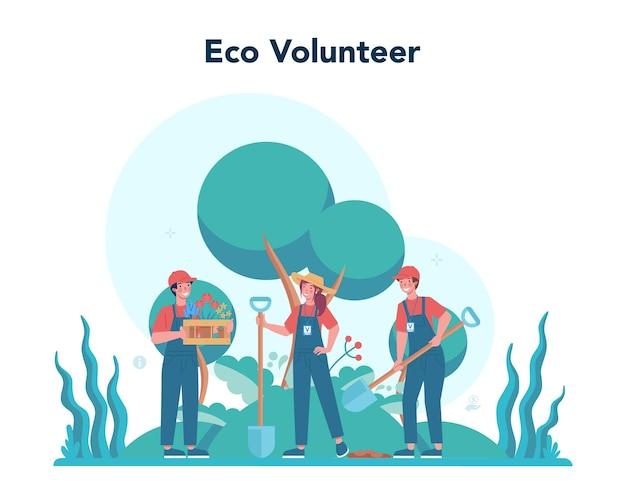 Społeczność charytatywna wspiera ekologię