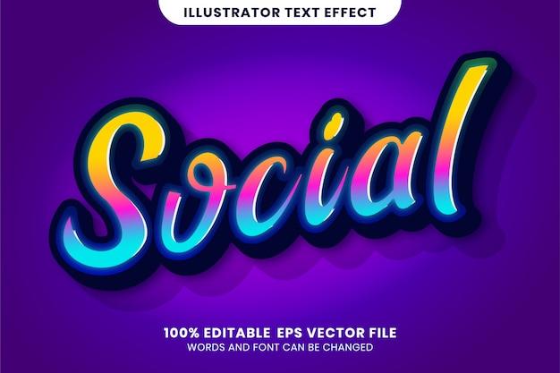 Społeczny efekt tekstowy