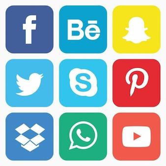 Społecznych zestaw ikon