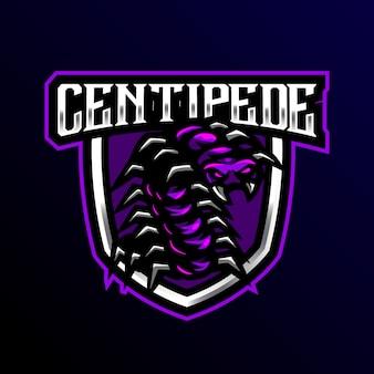 Sportowa gra z maskotką centipede