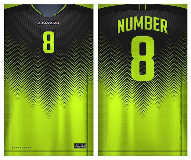 Sportowa Koszulka Do Piłki Nożnej Premium Wektorów