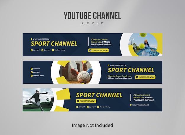 Sportowa okładka youtube
