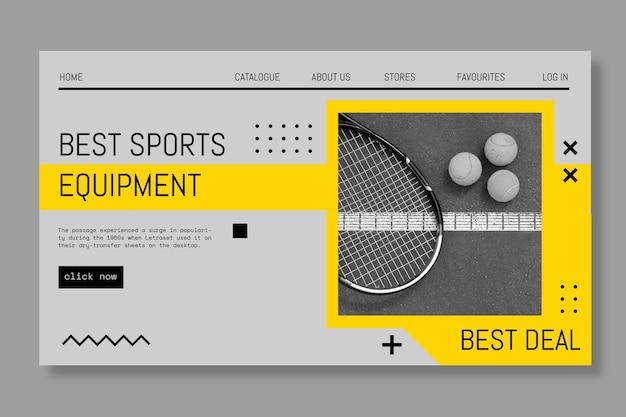 Sportowe zagraj w baner gry