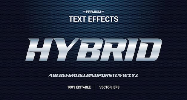 Sportowy edytowalny efekt tekstowy