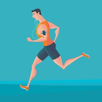 Sportowy jogger
