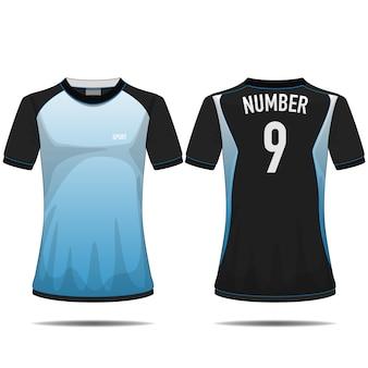 Sportowy wzór t-shirtów.