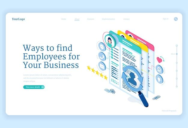 Sposoby znalezienia pracowników do biznesu