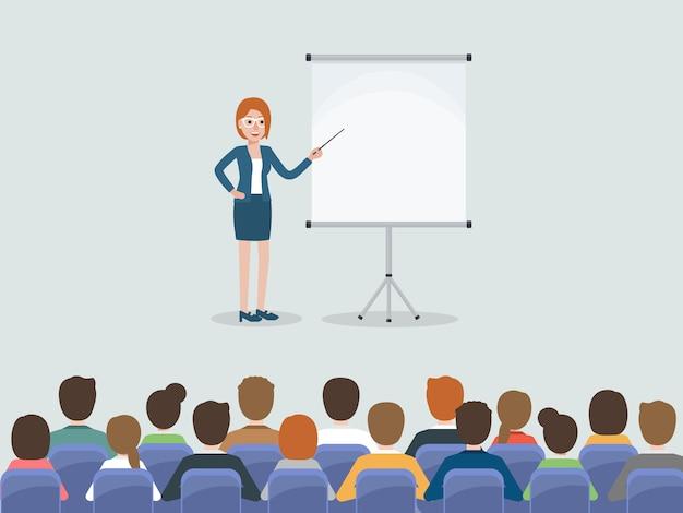 Spotkanie Przedsiębiorców I Przedsiębiorców. Premium Wektorów