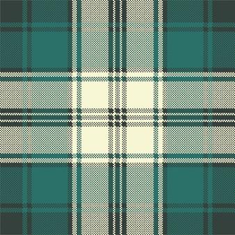 Sprawdź wzór pikowania tkaniny w kratę