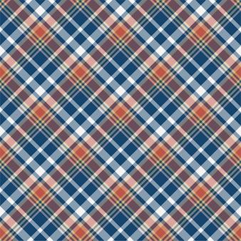 Sprawdź wzór w kratę. tło wektor ornament włókienniczych. tartan.