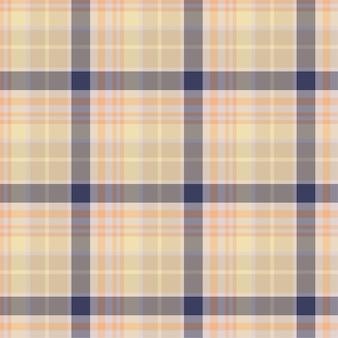 Sprawdź wzór w kratkę. tło wektor ornament włókienniczych. płaska konstrukcja tkaniny. tartan.
