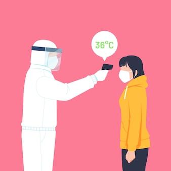 Sprawdzanie temperatury ciała