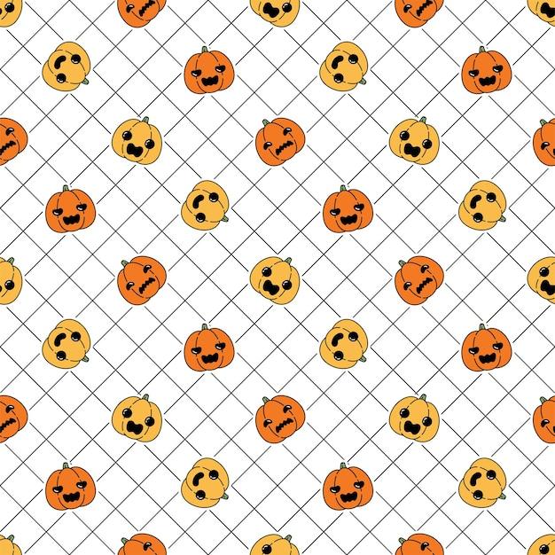 Sprawdzony wzór dyni halloween