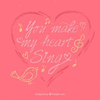 Sprawiasz że moje serce pojedyncze litery