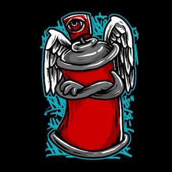 Spray anioł