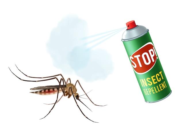 Spray przeciw komarom
