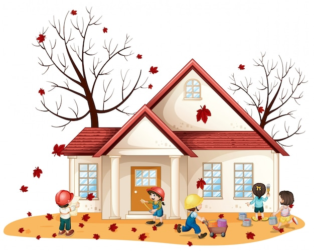 Sprzątanie domu dla dzieci