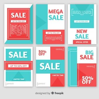 Sprzedam kolekcję banerów internetowych