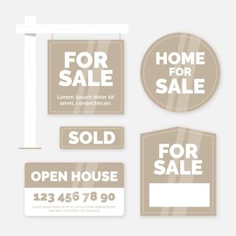 Sprzedam znaki nieruchomości