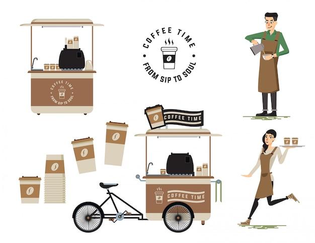 Sprzedawca kawy