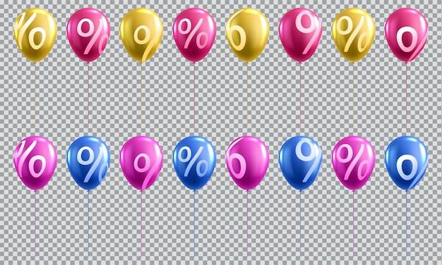 Sprzedaż 3d balon z procentem