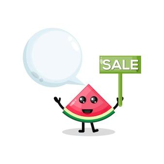 Sprzedaż arbuza