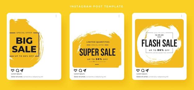 Sprzedaż banerów w stylu karty pocztowej