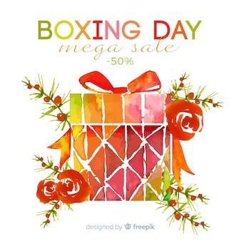 Sprzedaż drugiego dnia świątecznego z prezentem