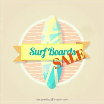 Sprzedaż etykieta surf