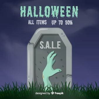 Sprzedaż halloween zombie ręcznie