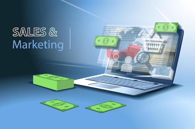Sprzedaż i marketing, zarabianie pieniędzy online na giełdach, giełdach i kasynach.