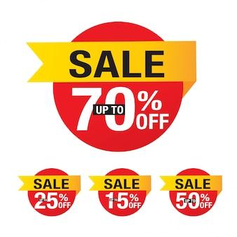 Sprzedaż, oferta specjalna i metki z ceną