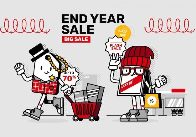 Sprzedaż promocyjna promocja maskotka