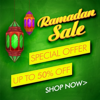 Sprzedaż ramadanu z ofertą specjalną rabatową. creative zielone t? oz wisz? cych lampy dekoracji dla muzułmańskich wspólnoty festiwalu uroczystości.