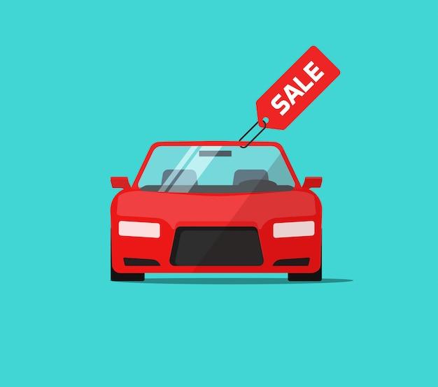 Sprzedaż samochodów lub samochodów