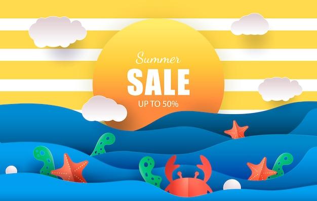 Sprzedaż transparentu letniego do 50% zniżki
