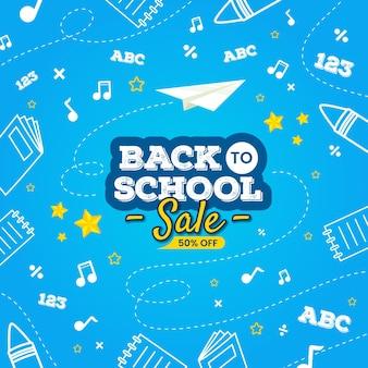 Sprzedaż z powrotem do szkoły