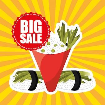Sprzedaż żywności azjatyckiej